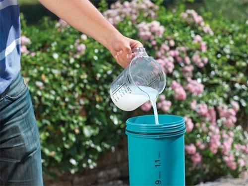 Приготовление раствора азотных удобрений