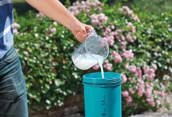 Приготовление калийного раствора для подкормки растений