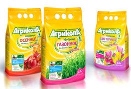 """Удобрение """"Агрикола"""" для осенних работ, газонов и цветов"""