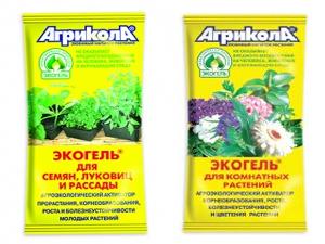 """Экогель """"Агрикола"""" для комплексного удобрения растений"""