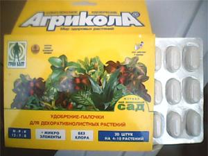 """Удобрение """"Агрикола"""" в палочках для домашних растений"""