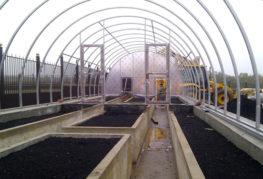 Подготовка земли в теплице