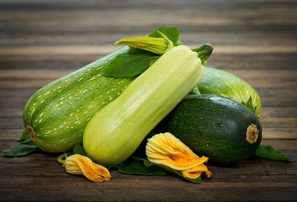 Плоды кабачков