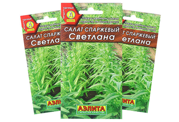Семена спаржевого салата