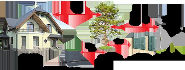 Схема посадки высокорослых деревьев