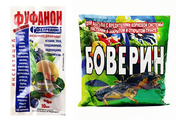 """Инсектициды """"Фуфанон"""" и """"Боверин"""""""