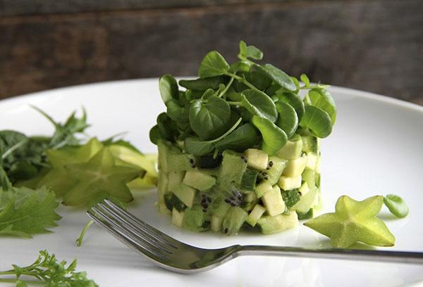 Кресс-салат в кулинарии