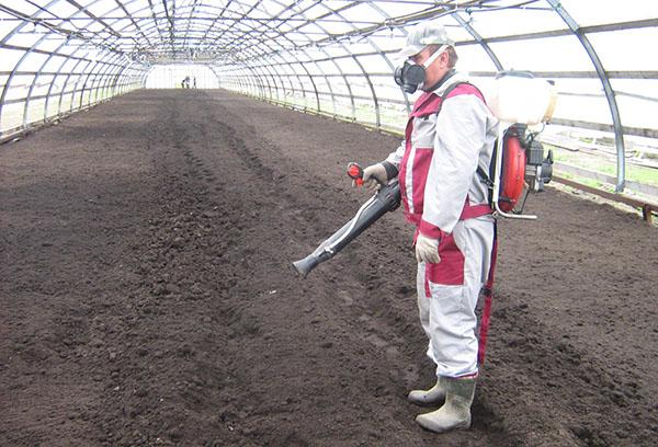 Осенняя обработка почвы от нематоды