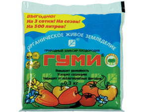 Удобрение Гуми для овощей, фруктов и ягод