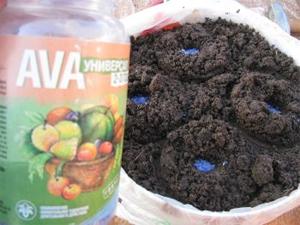 """Удобрение """"AVA"""" для рассады"""