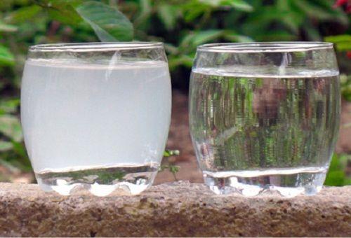 раствор в стаканах