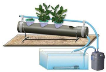 горшки для гидропоники с автоматической системой полива