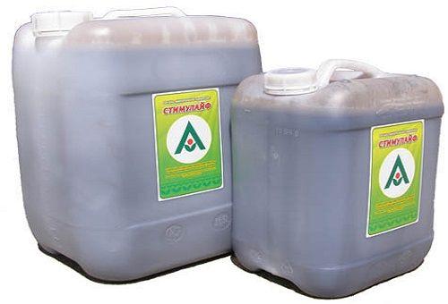 Жидкое гуминовое удобрение