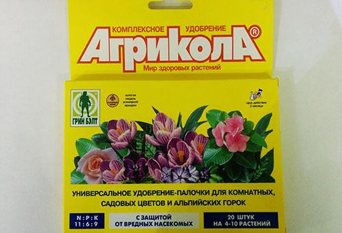"""Удобрение """"Агрикола""""для цветущих растений"""