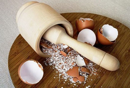 Толчена яичная скорлупа