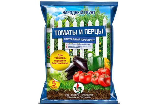 Почва для томатов и перцев