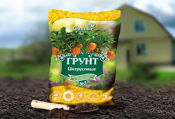Грунт для цитрусовых
