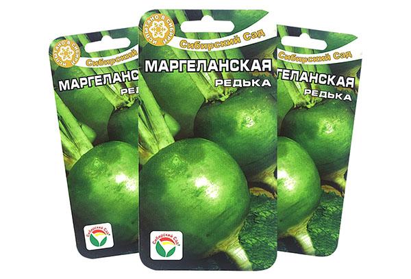 Семена маргеланской редьки