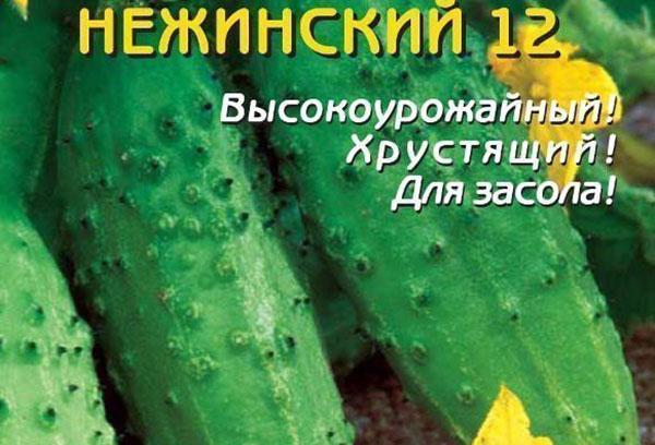 Семена огурцов сорта «Нежинские»
