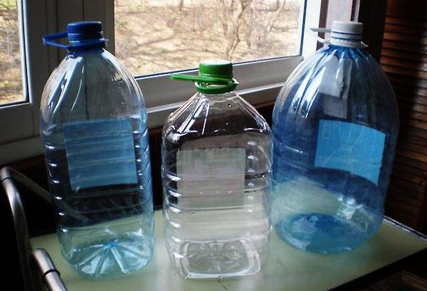 5-литровые бутылки
