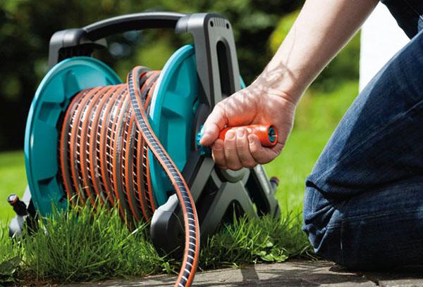 Использование садового шланга
