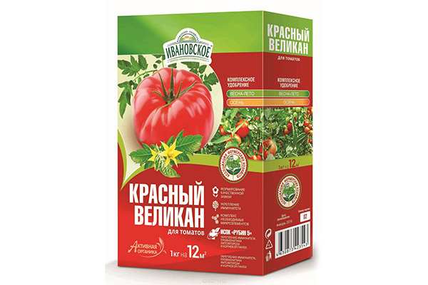 """Удобрение """"Красный великан"""""""