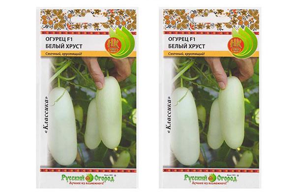 Семена огурцов Белый хруст F1
