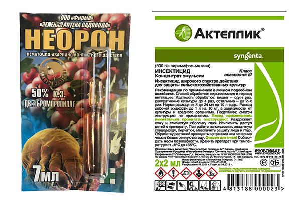 "Препараты ""Неорон"" и ""Актеллик"""