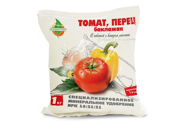 Комплексное удобрение для перца