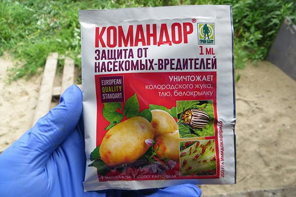 """Упаковка с инсектицидом """"Командор"""""""