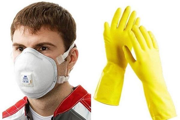 Средства индивидуальной защиты для работы с химикатами
