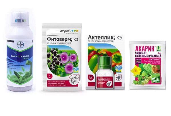 Инсектициды и биологически активные препараты