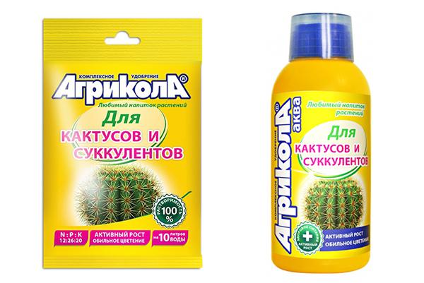 «Агрикола для кактусов и суккулентов»