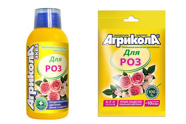 Удобрение «Агрикола для роз» в жидкой и гранулированной форме