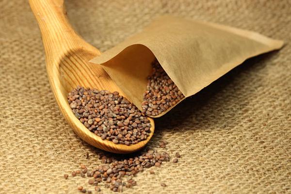 Пакетик с семенами для посадки на микрозелень