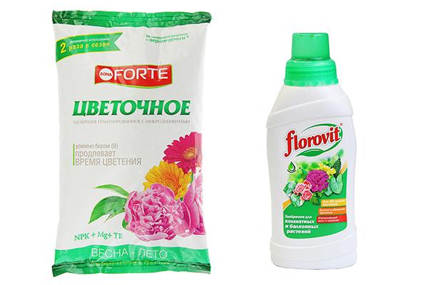 Промышленные удобрения для цветов в открытом грунте
