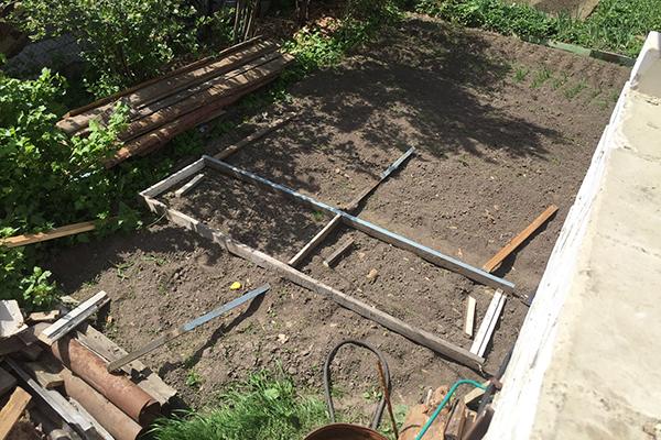 Строительство парника на даче