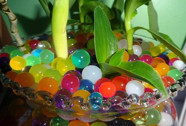Гидрогель для комнатных цветов